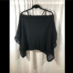 Free People Tops - EUC Free People Echo Stitch Cold Shoulder Sweater